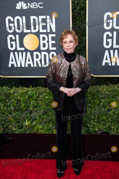 Carol Burnett Photo - 05 January 2020 - Beverly Hills California - Carol Burnett 77th Annual Golden Globe Awards held at the Beverly Hilton Photo Credit HFPAAdMedia
