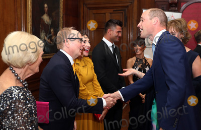 Aljaz Skorjanec Photo - Prince William Duke of Cambridge greets Jason Watkins and Wife Clara Franci with Aljaz Skorjanec Janette Manrara and Mary Berry during the Child Bereavement 25th birthday gala dinner at Kensington Palace in London HRH is a patron of Child Bereavement UK The charity works to help families to rebuild their lives after the devastation of child bereavement Photo Credit ALPRAdMedia