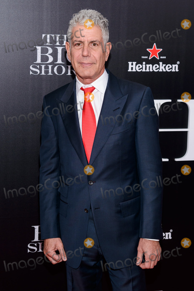 Anthony Bourdain Photo - November 23 2015 - New York NY -  The Big Short New York Premiere Photo Credit Mario SantoroAdMedia