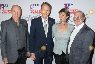 Celia Imrie Photo - 26 February 2016 - West Hollywood California - Patrick Stewart Chris OConnor Celia Imrie Adrian Scarborough The Film is GREAT Reception Honoring British Nominees of the 88th Annual Academy Awards held at Fig  Olive Photo Credit Byron PurvisAdMedia