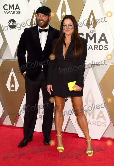 CMA Award Photo - 13 November 2019 - Nashville Tennessee - Sara Evans Jay Barker 53rd Annual CMA Awards Country Musics Biggest Night held at Music City Center Photo Credit Laura FarrAdMedia