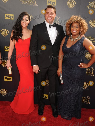 SUNNY ANDERSON Photo - 26 April 2015 - Burbank California - Katie Lee Jeff Mauro Sunny Anderson The 42nd Annual Daytime Emmy Awards - Arrivals held at Warner Bros Studios Photo Credit Byron PurvisAdMedia
