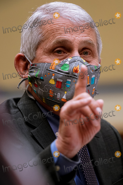 The National Photo - Dr Anthony Fauci Director of the National Institute of Allergy and Infectious Diseases at the National Institutes of Health testifies as the US House Select Subcommittee on the Coronavirus Crisis holds a hearing on the Capitol Hill in Washington on Thursday April 15 2021 Credit Amr Alfiky  Pool via CNPAdMedia