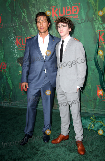 Art Parkinson Photo - 14 August 2016 - Los Angeles California - Matthew McConaughey and Art Parkinson Kubo and The Two Strings World Premiere held at the AMC Universal City Walk Universal Studios Hollywood in Los Angeles Photo Credit AdMedia
