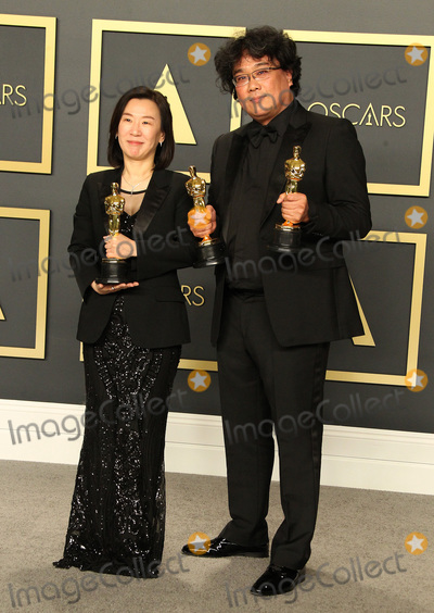 Sinful Photo - 09 February 2020 - Hollywood California - Kwak Sin-ae Bong Joon-ho 92nd Annual Academy Awards presented by the Academy of Motion Picture Arts and Sciences held at Hollywood  Highland Center Photo Credit AdMedia