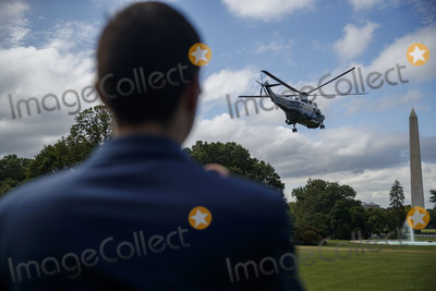President Trump Photo - US President Donald J Trump aboard Marine One departs the South Lawn of the White House in Washington DC USA 10 July 2020 President Trump will receive a briefing and deliver remarks on SOUTHCOM Enhanced Counternarcotics Operations and he will participate in a roundtable on Supporting the People of VenezuelaCredit Shawn Thew  Pool via CNPAdMedia
