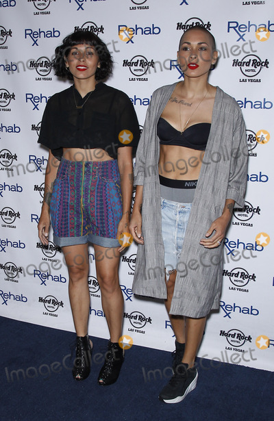 Nicole Albino Photo - 19 July 2015 - Las Vegas NV - Nina Sky Natalie Albino Nicole Albino  Nina Sky at REHAB at the Hard Rock Hotel and CasinoPhoto Credit mjtAdMedia