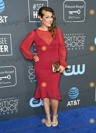 Amber Nash Photo - 13 January 2019 - Santa Monica California - Amber Nash The 24th Annual Critics Choice Awards held at Barker Hangar Photo Credit Birdie ThompsonAdMedia
