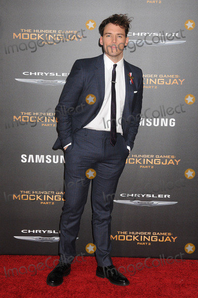 Sam Claflin Photo - 16 November 2015 - Los Angeles California - Sam Claflin The Hunger Games Mockingjay - Part 2 Los Angeles Premiere held at the Microsoft Theater Photo Credit Byron PurvisAdMedia