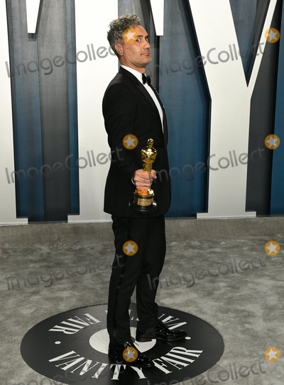Taika Waititi Photo - 09 February 2020 - Los Angeles California - Taika Waititi 2020 Vanity Fair Oscar Party following the 92nd Academy Awards held at the Wallis Annenberg Center for the Performing Arts Photo Credit Birdie ThompsonAdMedia