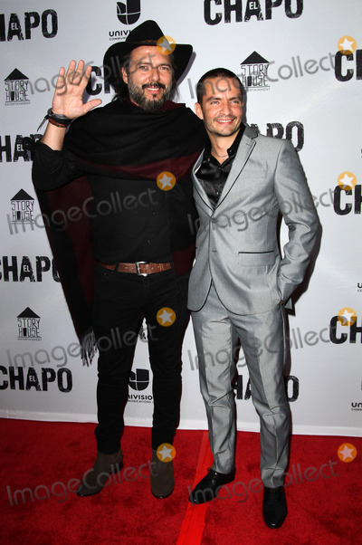 Rodrigo Abed Photo - 19 April 2017 - Los Angeles California - Rodrigo Abed and Juan Carlos Olivas Univisions El Chapo Original Series Premiere Event held at The Landmark Theatre Photo Credit AdMedia