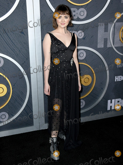 Maisie Williams Photo - 22 September 2019 - West Hollywood California - Maisie Williams 2019 HBO Emmy After Party held at The Pacific Design Center Photo Credit Birdie ThompsonAdMedia