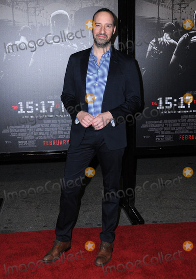 Tony Hale Photo - 05 February 2018 - Burbank California - Tony Hale The 1517 To Paris Los Angeles Premiere held at Warner Bros Studios SJR Theater Photo Credit Birdie ThompsonAdMedia