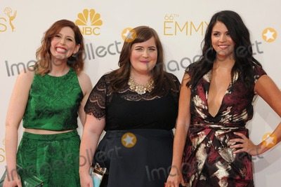 Aidy Bryant Photo - 25 August 2014 - Los Angeles California - Vanessa Bayer Aidy Bryant Cecily Strong 66th Annual Primetime Emmy Awards - Arrivals held at Nokia Theatre LA Live Photo Credit Byron PurvisAdMedia