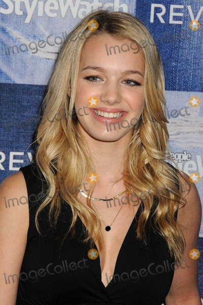 Sadie Calvano Photo - 18 September 2014 - Los Angeles California - Sadie Calvano People StyleWatch Hosts Hollywood Denim Party In Honor of the Magazines 4th Annual Denim Issue held at The Line Hotel Photo Credit Byron PurvisAdMedia