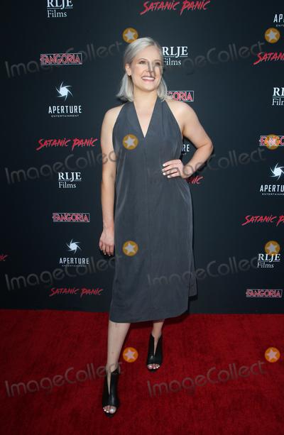 Amanda Presmyk Photo - 23 August 2019 - Hollywood California - Amanda Presmyk Premiere Of Satanic Panic held at The Egyptian Theatre Photo Credit FSadouAdMedia