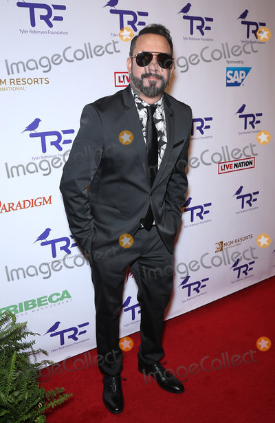 AJ MCLEAN Photo - 25 August 2017 - Las Vegas NV -  AJ McLean  The Tyler Robinson Foundation 4th Annual Believer Gala at Caesars Palace Credit mjtAdMedia