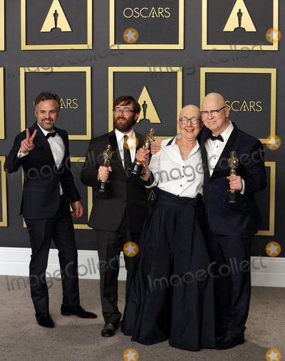 Teairra Mar Photo - 09 February 2020 - Hollywood California -  Mark Ruffalo Jeff Reichert Julia Reichert Steven Bognar attend the 92nd Annual Academy Awards presented by the Academy of Motion Picture Arts and Sciences held at Hollywood  Highland Center Photo Credit Theresa ShirriffAdMedia