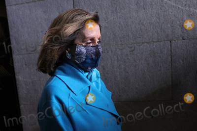 Nancy Pelosi Photo - WASHINGTON DC - JANUARY 20 House Speaker Nancy Pelosi (D-CA) arrives at the inauguration of US President-elect Joe Biden on the West Front of the US Capitol on January 20 2021 in Washington DC  During todays inauguration ceremony Joe Biden becomes the 46th president of the United States (Photo by Win McNameeGetty Images)AdMedia