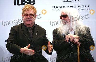 Paul Zimmerman Photo - 14 March 2011 - New York NY - Sir Elton John and Leon Russell  The press room at the 26th annual Rock and Roll Hall of Fame Induction Ceremony at The Waldorf-Astoria on March 14 2011 in New York City Photo Paul ZimmermanAdMedia
