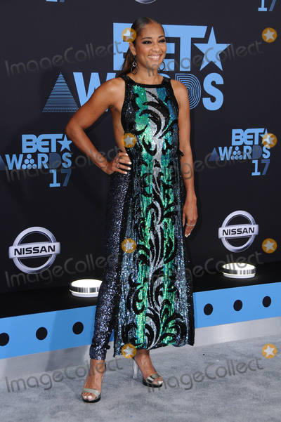 Amanda Seales Photo - 25 June 2017 - Los Angeles California - Amanda Seales 2017 BET Awards held at the Microsoft Square in Los Angeles Photo Credit Birdie ThompsonAdMedia