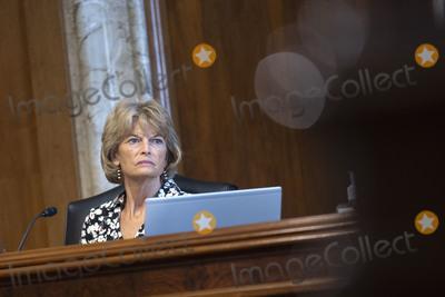 alaska Photo - United States Senator Lisa Murkowski (Republican of Alaska) listens during a US Senate Committee on Energy and Natural Resources hearing on Capitol Hill in Washington DC US on Wednesday June 24 2020  Credit Stefani Reynolds  CNPAdMediaAdMedia