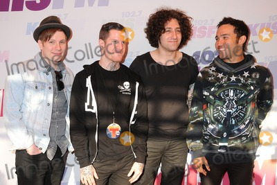 Andy Hurley Photo - 11 May 2013 - Carson California - Patrick Stump Andy Hurley Joe Trohman Pete Wentz Fall Out Boy KIIS FMs Wango Tango 2013 held at The Home Depot Center Photo Credit Byron PurvisAdMedia