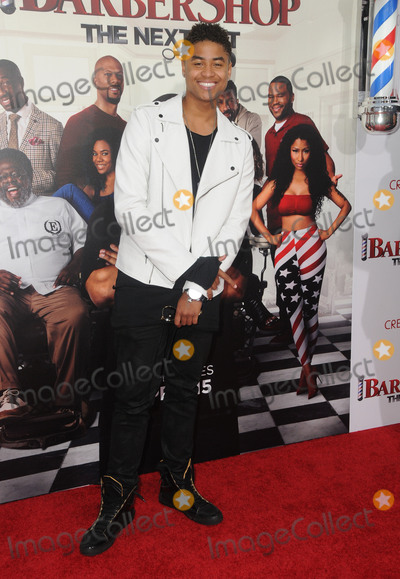 Torion Sellers Photo - 06 April 2016 - Hollywood California - Torion Sellers Arrivals for the Los Angeles Premiere of Barbershop The Next Cut held at TCL Chinese Theater Photo Credit Birdie ThompsonAdMedia