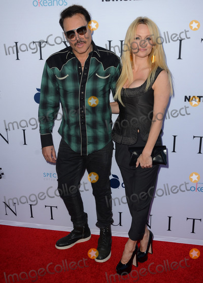 David La Chapelle Photo - 24 June 2015 - Los Angeles California - David LaChapelle Pamela Anderson Arrivals for the world premiere screening of the documentary Unity held at The DGA Theater Photo Credit Birdie ThompsonAdMedia