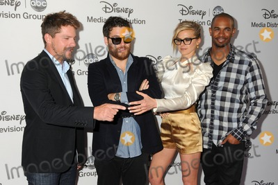 Adam Pally Photo - 20 May 2012 - Burbank California - Zachary Knighton Adam Pally Eliza Coupe Damon Wayans Jr Disney Media Networks International Upfronts held at Walt Disney Studios Photo Credit Byron PurvisAdMedia