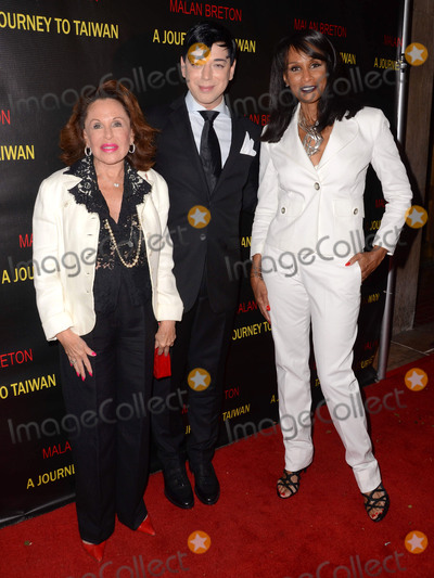 Malan Breton Photo - 17 August 2015 - Westwood California - Malan Breton Beverly Johnson Arrivals for the premiere of A Journey to Taiwan held at The Theater at The Regent Landmark Theater Photo Credit Birdie ThompsonAdMedia