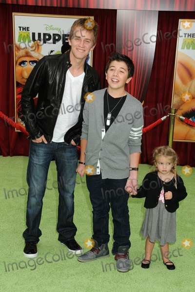 Mia Talerico Photo - 12 November 2011 - Hollywood California - Jason Dolley Bradley Steven Perry and Mia Talerico The Muppets Los Angeles Premiere held at the El Capitan Theatre Photo Credit Byron PurvisAdMedia