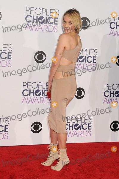 AMBER VALETTA Photo - 6 January 2016 - Los Angeles California - Amber Valetta Peoples Choice Awards 2016 - Arrivals held at The Microsoft Theater Photo Credit Byron PurvisAdMedia