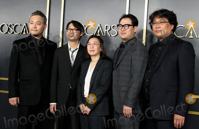 Sinful Photo - 27 January 2020 - Hollywood California - Ha-jun Lee Yang Jin-mo Kwak Sin-ae Han Jin Wan and Bon Joon-ho 92nd Academy Awards Nominees Luncheon held at the Ray Dolby Ballroom in Hollywood California Photo Credit AdMedia