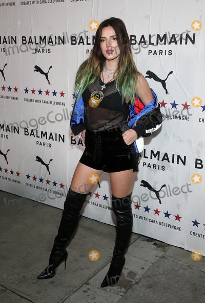 Bella Thorne Photo - 21 November 2019 - Los Angeles California - Bella Thorne PUMA x Balmain- created with Cara Delevingne LA Launch Event held at Milk Studios Photo Credit FSAdMedia