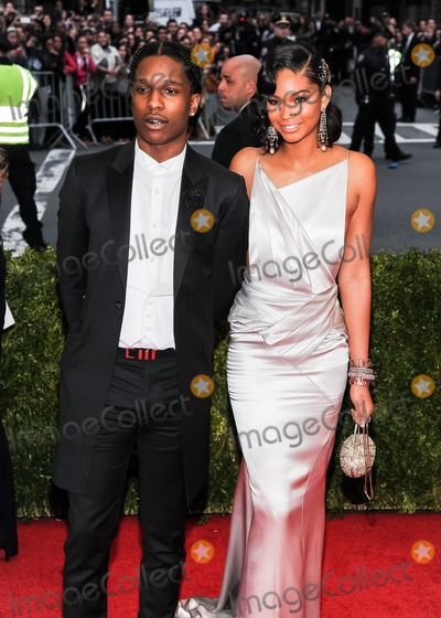 ASAP Rocky Photo - 05 May 2014 - New York New York- ASAP Rocky Chanel Iman Charles James Beyond Fashion Costume Institute Gala at The Metropolitan Museum of Art Photo Credit Christopher SmithAdMedia