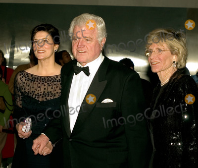 John F Kennedy Photo - Washington DC - December 4 2005 -- United States Senator Ted Kennedy (Democrat of Massachusetts) center arrives for the Kennedy Center Honors tapingwith his wife Victoria left and sister Jean Kennedy Smith right at the John F Kennedy Center for the Performing Arts in Washington DC on December 4 2005Credit Ron Sachs  CNPAdMedia