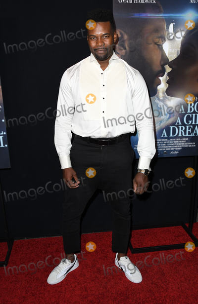 Amine Photo - 11 September 2018 - Hollywood California - Amin Joseph A Boy A Girl A Dream LA Premiere held at the Arclight Hollywood Photo Credit Birdie ThompsonAdMedia