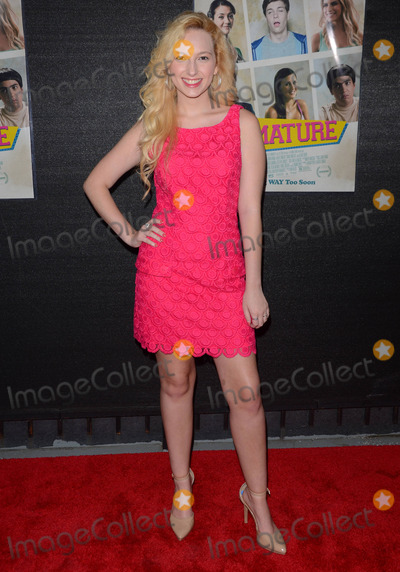 Alexis Nolan Photo - 25 July 2014 - Hollywood California - Alexis Nolan Arrivals for the LA opening night screening of IFC MIDNIGHTS Premature held at the Arena Theater in Hollywood Ca Photo Credit Birdie ThompsonAdMedia