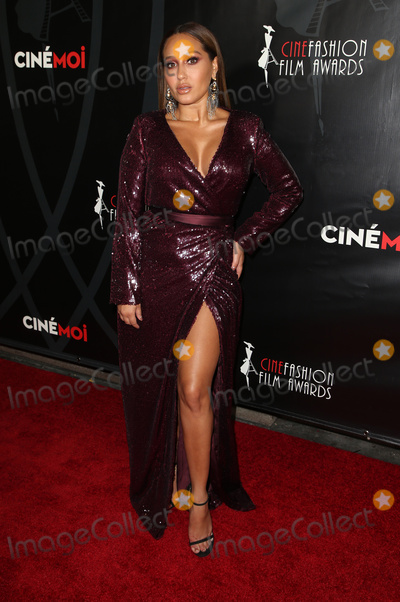 Adrienne Bailon Photo - 08 October 2017 - Hollywood California - Adrienne Bailon 4th Annual CineFashion Film Awards Photo Credit F SadouAdMedia