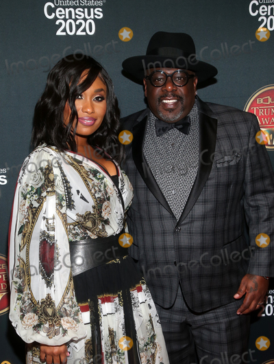 Angell Conwell Photo - 4 December 2019 - Hollywood California - Angell Conwell Cedric the Entertainer the 28th Annual Bounce Trumpet Awards held at Dolby Theatre Photo Credit FSAdMedia