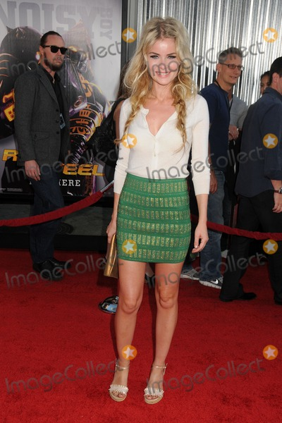 Anita Briem-Paraskevopoulos Photo - 2 October 2011 - Universal City California - Anita Briem-Paraskevopoulos Real Steel Los Angeles Premiere held at Universal Gibson Amphitheatre Photo Credit Byron PurvisAdMedia