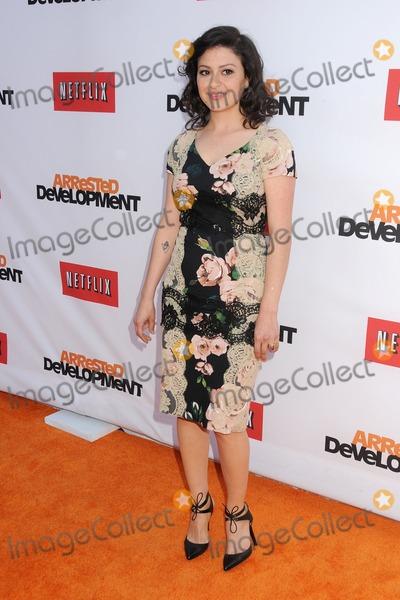 Alias Photo - 29 April 2013 - Hollywood California - Alia Shawkat Arrested Development Season 4 Los Angeles Premiere held at the TCL Chinese Theatre Photo Credit Byron PurvisAdMedia