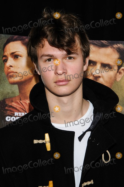 Ansel Elgort Photo - 28 March 2013 - New York New York - Ansel Elger The Place Beyond The Pines New York Premiere Photo Credit Mario SantoroAdMedia