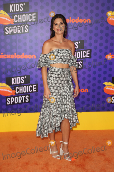 Alex Morgan Photo - 19 July 2018-  Santa Monica California - Alex Morgan Nickelodeon Kids Choice Sports Awards 2018 held at Barker Hangar Photo Credit Faye SadouAdMedia