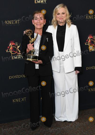 Amy Poehler Photo - 05 May 2019 - Pasadena California - Judge Judy Amy Poehler 46th Annual Daytime Emmy Awards - Press Room held at Pasadena Civic Auditorium Photo Credit Birdie ThompsonAdMedia