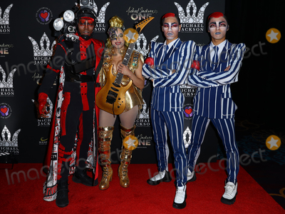 Michael Jackson Photo - 29 August 2018 - Las Vegas NV -  Michael Jackson One cast Members  Michael Jackson diamond birthday celebration at Mandalay Bay Resort and Casino Photo Credit MJTAdMedia