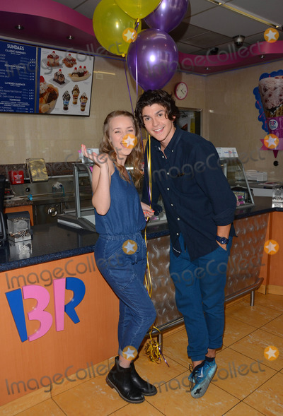 Anna Jacoby-Heron Photo - 12 August 2014 - Burbank California - Anna Jacoby- Heron Jesse Henderson Cast of MTVs Finding Carter celebrate the twins 17th birthday at Baskin-Robbins in Burbank Ca Photo Credit Birdie ThompsonAdMedia