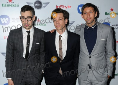 Andrew Dost Photo - 10 February 2013 - West Hollywood California - Jack Antonoff Nate Ruess Andrew Dost Fun Warner Music Group 2013 Grammy Celebration held at The Chateau Marmont Photo Credit Byron PurvisAdMedia