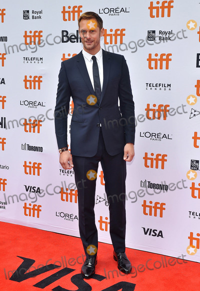 Alexander Skarsgrd Photo - 08 September 2018 - Toronto Ontario Canada - Alexander Skarsgrd The Hummingbird Project Premiere - 2018 Toronto International Film Festival held at the Princess of Wales Theatre Photo Credit Brent PerniacAdMedia